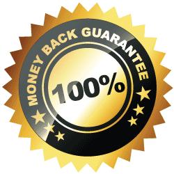 100 percent guaranteed emblem